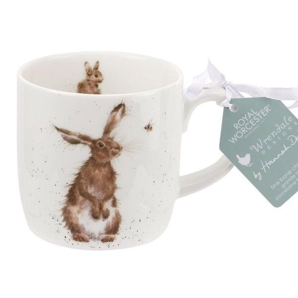 Wrendale Designs Hare and the Bee Beker - Royal Worcester