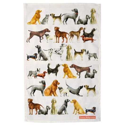 Keukendoek - Theedoek Dogs - Emma Bridgewater