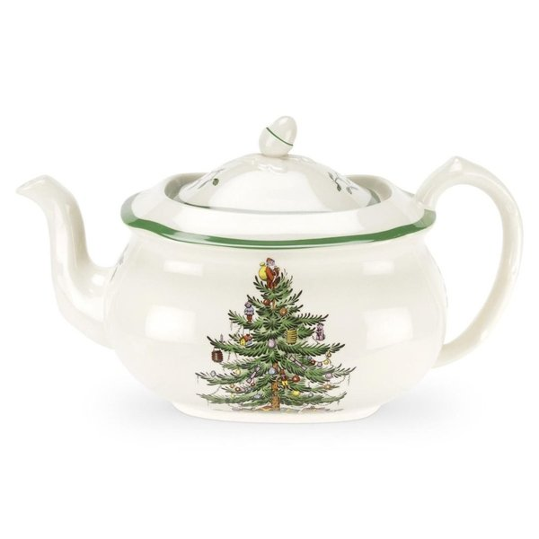 Spode Christmas Tree Theepot