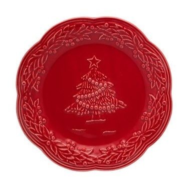 Kerstservies Bord Natal - Christmas 21 cm - Bordallo Pinheiro
